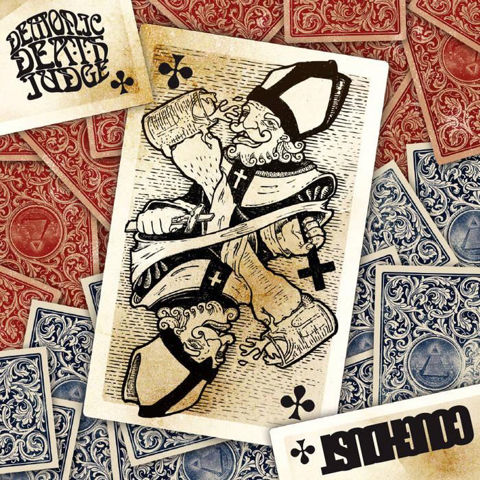 Demonic Death Judge & Coughdust - Split cover art