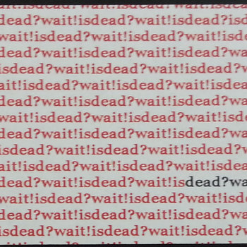 Dead?Wait! is Dead cover art
