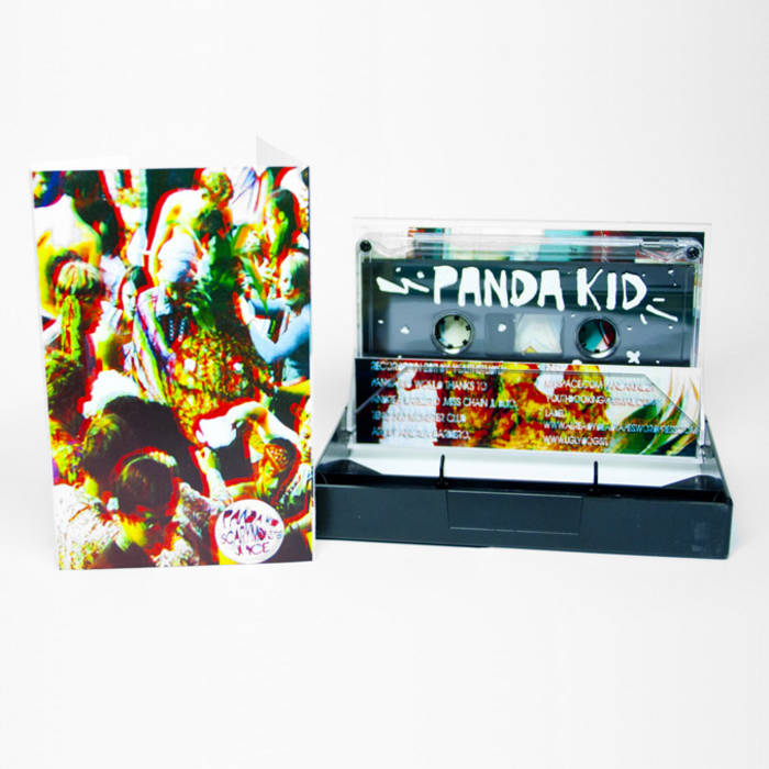 AD019 Panda Kid 'Scary Monster Juice' cover art