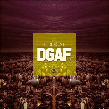 DGAF EP cover art