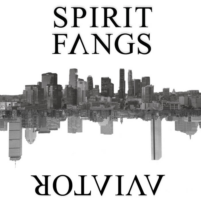 AVIATOR / SPIRIT FANGS SPLIT cover art