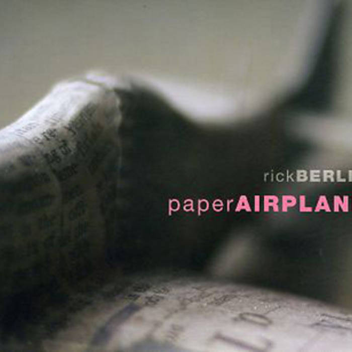 PAPER AIRPLANE cover art