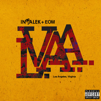 Intalek x EOM - The LA.VA. EP (Los Angeles, Virginia) cover art