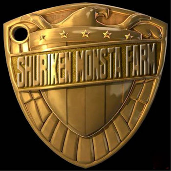 SHURIKEN MONSTA FARM+RONIN BEATS cover art