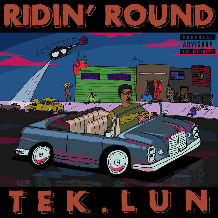 Ridin' Round cover art