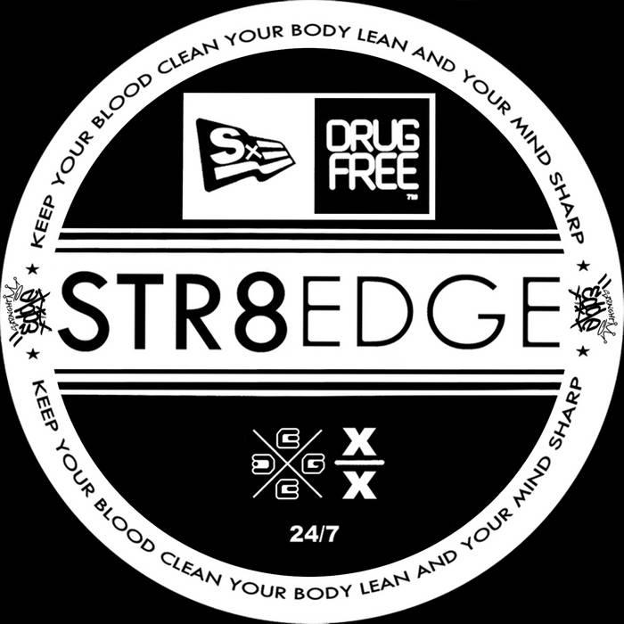 Straight Edge Mixtape 2013 cover art