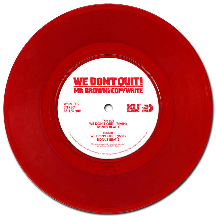 We Don't Quit cover art