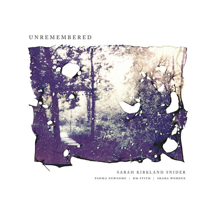 Unremembered cover art