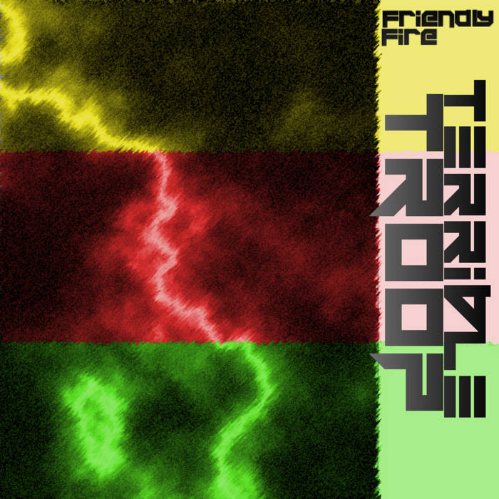 Friendly Fire L.P. cover art