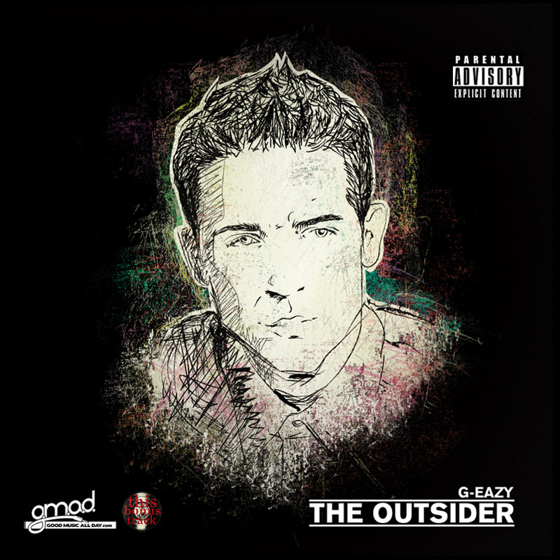The Outsider cover art  G Eazy The Outsider