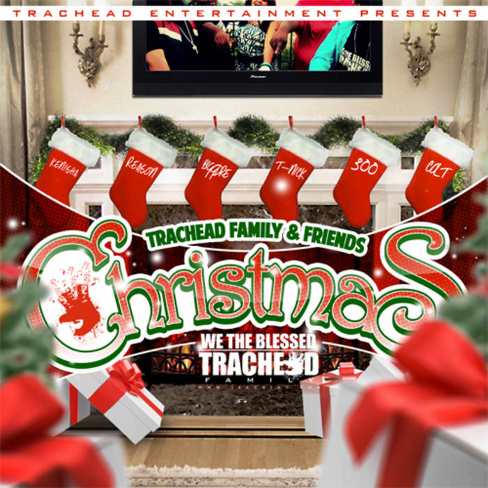 Trachead Family & Friends Christmas cover art