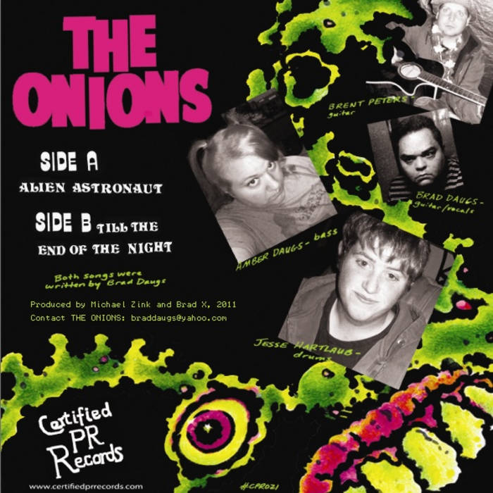 The Onions - Alien Astronaut EP cover art