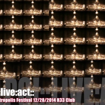 pulpo! live act@Metropolis Festival 12/28/2014 cover art