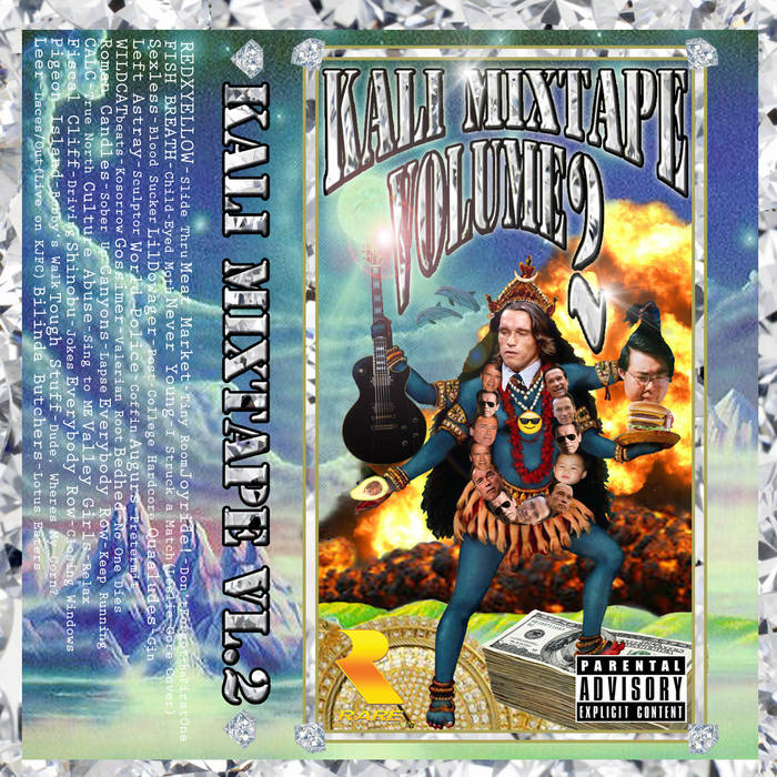 KALI Mixtape Volume 2 cover art