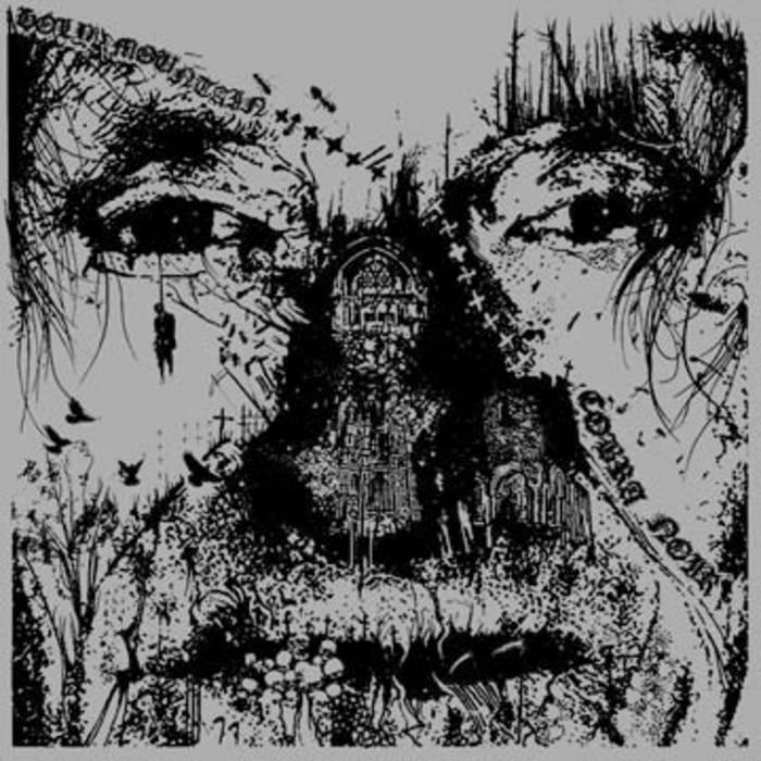 """AA50. The Holy Mountain / Cobra Noir - Split 7"""" cover art"""