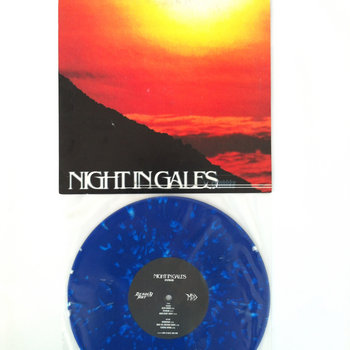 "NIGHT IN GALES - SYLPHLIKE - 10"" VINYL cover art"