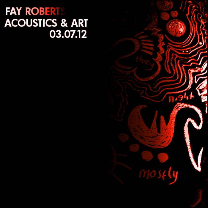Acoustics & Art @ CB2 Basement cover art