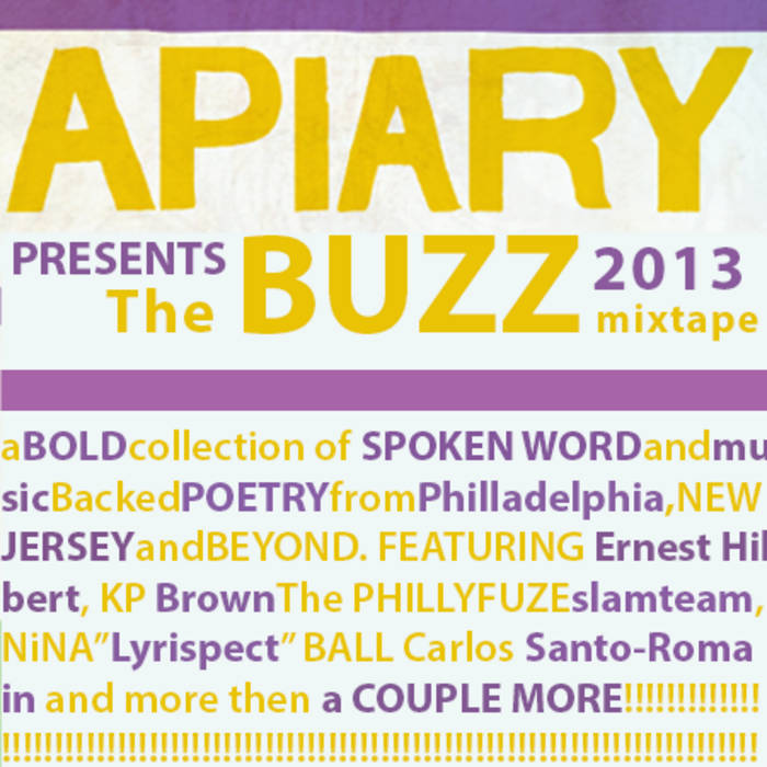 The Buzz 2013 cover art