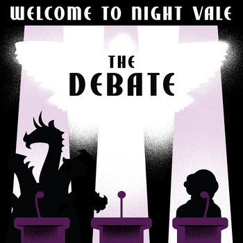 """The Debate"" - Live at Roulette cover art"