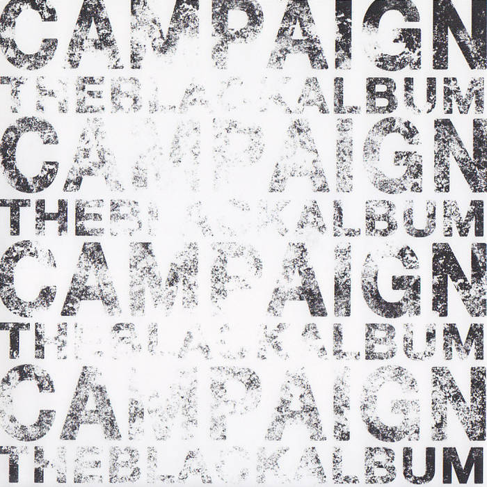 "Campaign ""Black Album"" cover art"