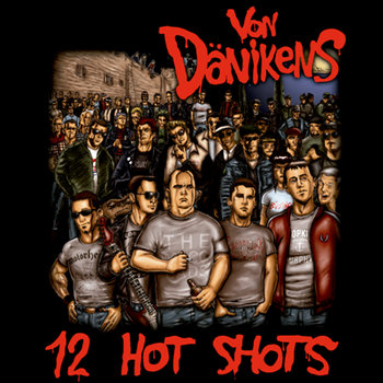 """12 Hot Shots"" LP 12"" (2013) cover art"