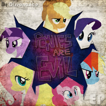 Ponies are Evil! cover art