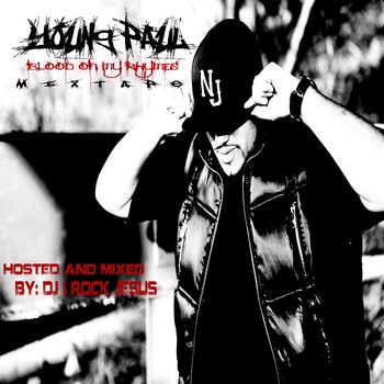 Blood On My Rhymes Mixtape cover art