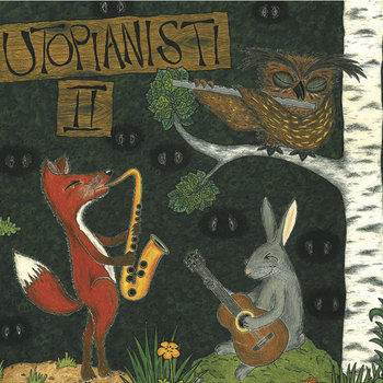 Utopianisti II + Utopianisti meets Black Motor & Jon Ballantyne cover art
