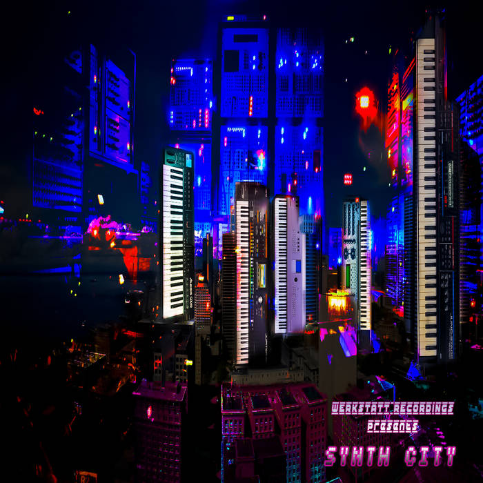 102. V/A - Synth city cover art