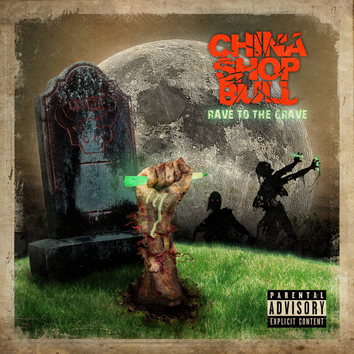 Rave To The Grave cover art