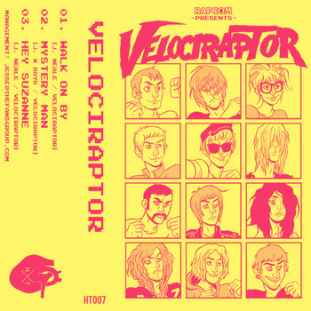 Velociraptor EP cover art
