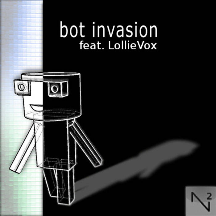 bot invasion (feat. LollieVox) cover art