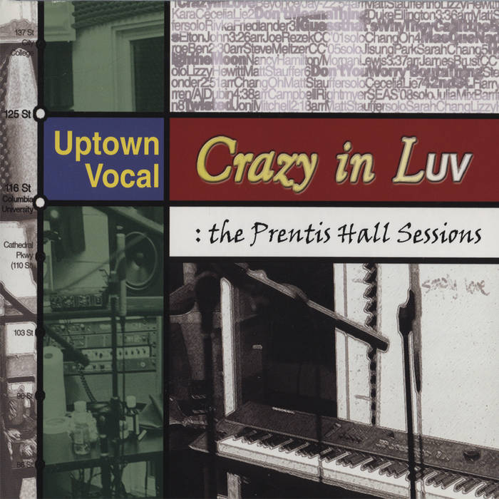 Crazy In LUV: the Prentis Hall Sessions cover art