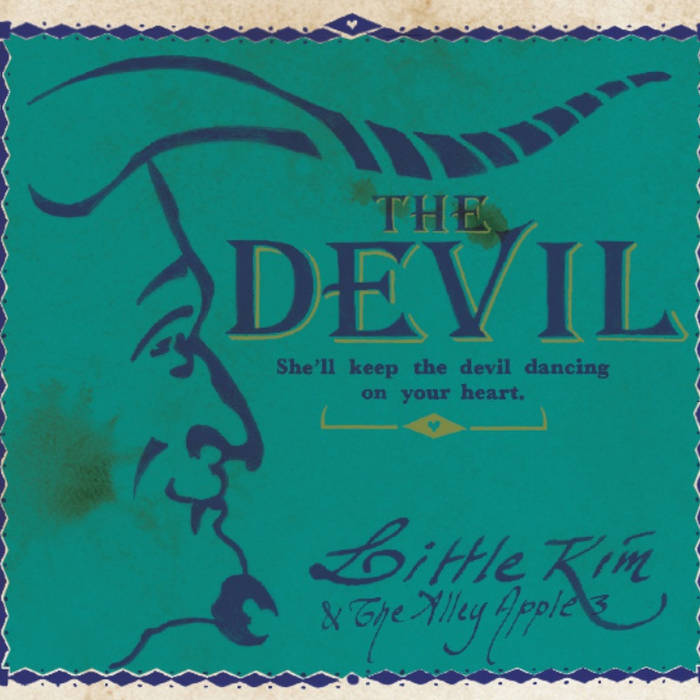 She'll keep the devil dancing on your heart cover art