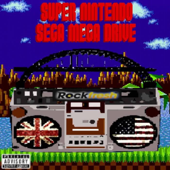 Super Nintendo Sega Mega Drive cover art
