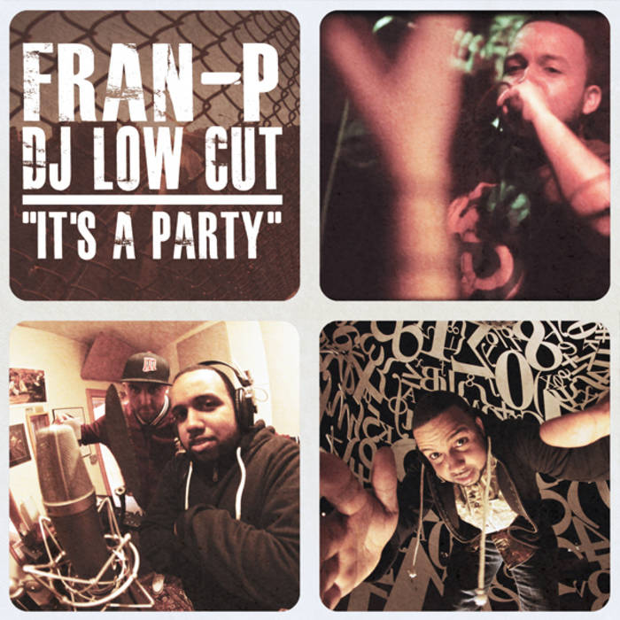 "Fran-P ""It's A Party"" cover art"