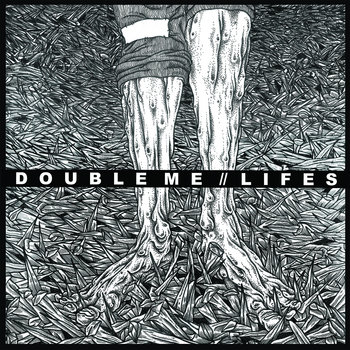 "DOUBLE ME SPLIT 7"" cover art"