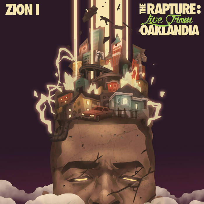 The Rapture: Live from Oaklandia cover art