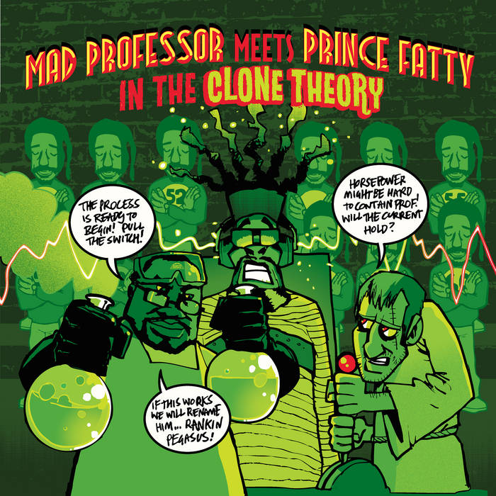 Mad Professor meets Prince Fatty in 'The Clone Theory' cover art