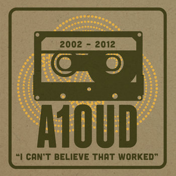 Aloud 10th Anniversary EP cover art