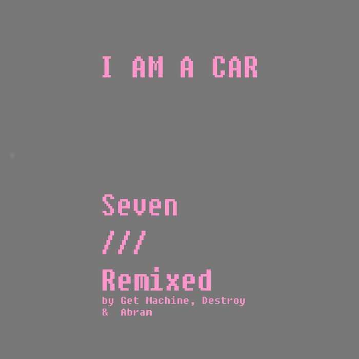 Seven /// Remixed cover art