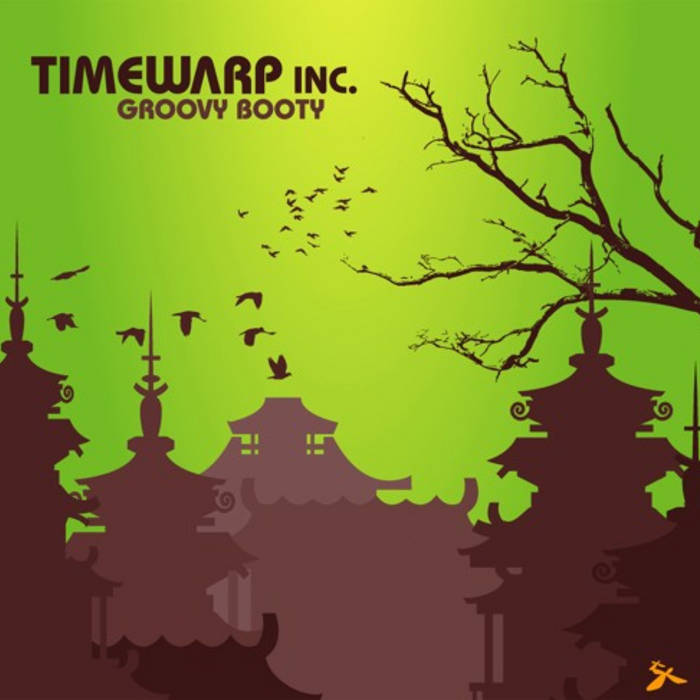Timewarp inc - Groovy Booty cover art
