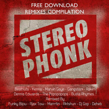 Stereophonk Remixes Free Compilation cover art