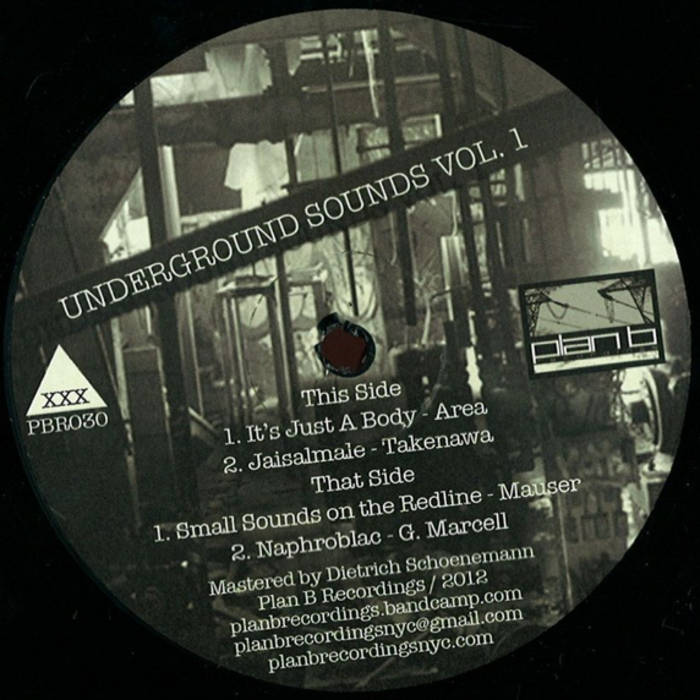 """Underground Sounds Vol.01"" (12"" Vinyl) cover art"