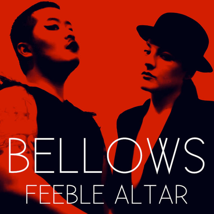FEEBLE ALTAR LP cover art