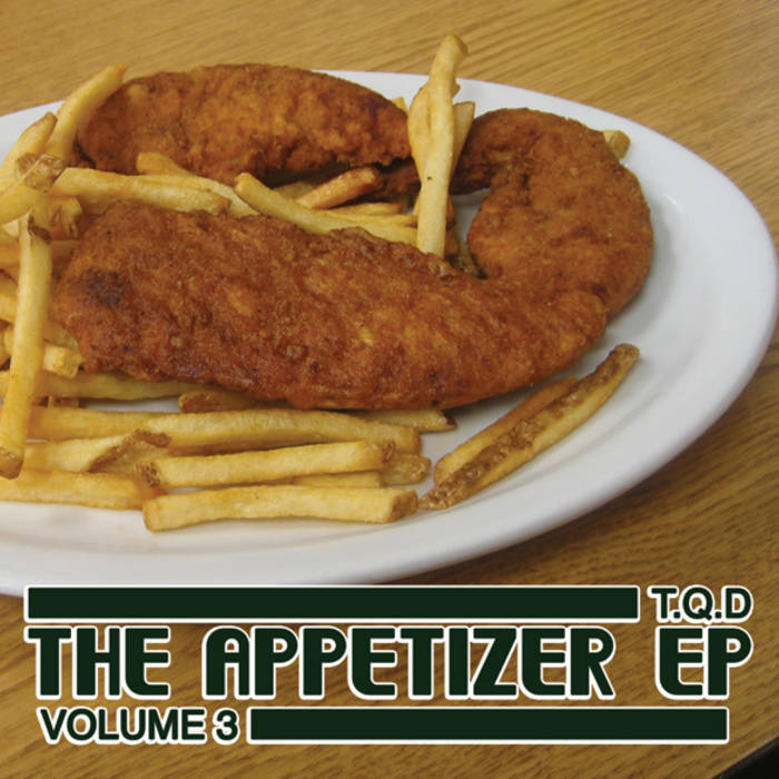 The Appetizer EP Vol. 3 cover art