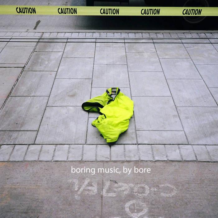 Boring Music EP cover art