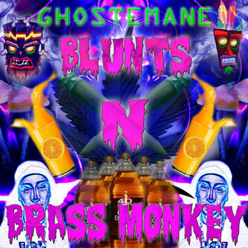 BLUNTS N BRASS MONKEY cover art
