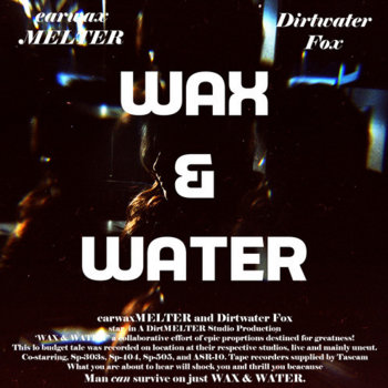 WAX & WATER cover art