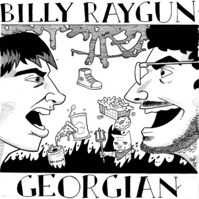 Billy Raygun/Georgian Split cover art